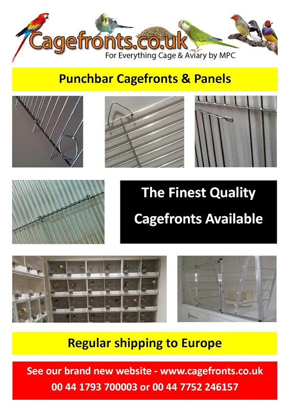 Finest quality punchbar cagefronts aand panels advert